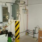 Erdgasbetankungsanlage incl. Gaszähler und Sicherungskasten